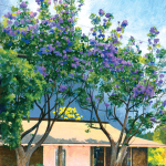 Jacaranda Tree by Donald A. Jusko