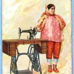Singer. 1892 TradeCards. Tunis. front