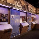 exhibits focus on Mob violence, casino money skimming operations, and wiretapping