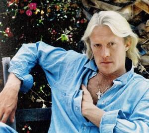 Blond dancer Alexander Godunov
