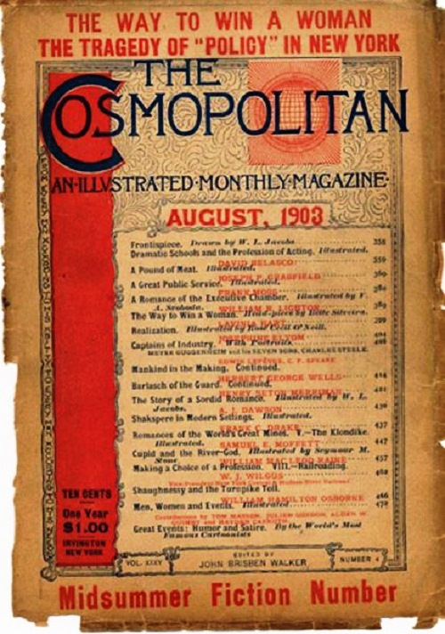 International magazine for women 'Cosmopolitan', 1903