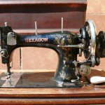 Vintage 19th - 20th centuries. PFAFF HEXAGON Sewing machine