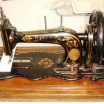 Singer machine 1887