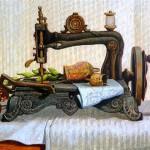 Marina Bogdanova. Still life, sewing machine