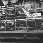 Retro bus designed by the French coach-builder Currus