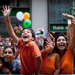 Manash Sharma and his family welcomed actors in a parade in honor of India in New York, USA