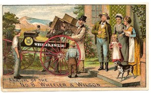 Wheeler and Wilson arrival poster