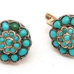 "Earrings with Turquoise ""Malinki"""