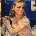 International magazine for women 'Cosmopolitan', 1940