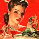 International magazine for women 'Cosmopolitan', 1941