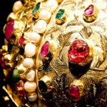 A fragment of the crown of the Hungarian nobleman Istvan Bocskai