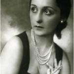 Actress Nina Vanna, nee Yazykova, London, 1929