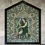 Mermaid mosaic panno