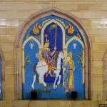 the history of Kazan in the mosaic panno