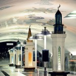 Gorgeous interior of Kazan Underground