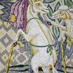 Fragment of mosaic panno