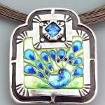 Bird of Month October 2012 – Peacock Splendour by Joy Funnell