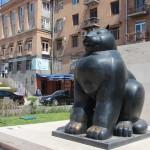 Fat Cat monument in Armenia