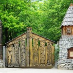 Field of Fairy Tales by sculptor Pavel Bezrukov, Crimea
