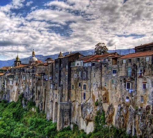Gothic town Sant'Agata de' Goti