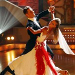 Kseniya Vdovina in the TV show 'Dancing with the Stars' on TV Russia-1