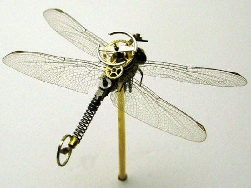 Steampunk Insects by Mike Libby