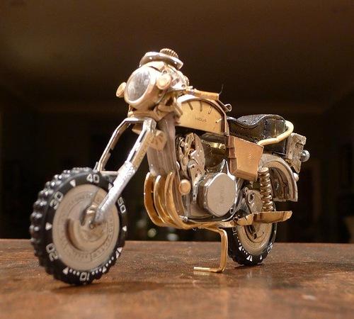 Dan Tanenbaum's motorcycles