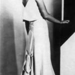 Model Princess Obolenskaya Mia, married Shahovskaya, Paris, 1930