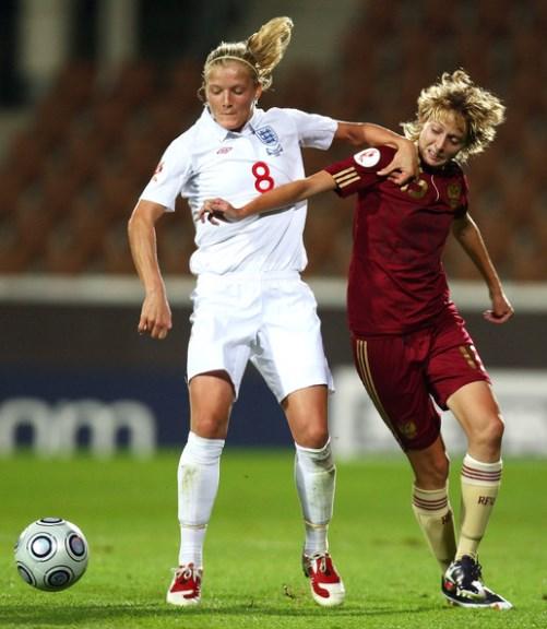 Olga Petrova vs Katie Capman, England-Russia