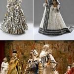 Paper costume by Belgian artist Isabelle de Borchgrave