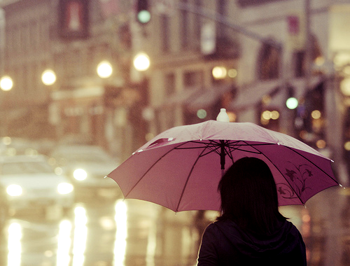 One can find so many pains when the rain is falling
