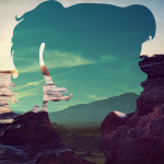 Silhouette landscapes by graphic artist from Guatemala Aritz Bermudez