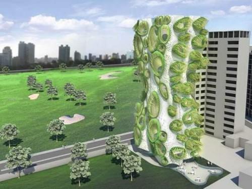 Sky Condos Organic Architecture