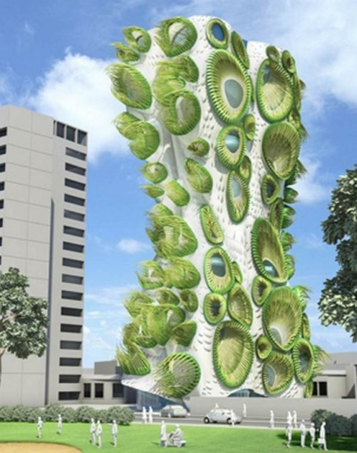 Sky Condos Organic Architecture from American Architects