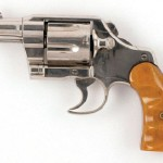 The nickel-plated Colt Army Special 38 Caliber revolver, used by Clyde Barrow