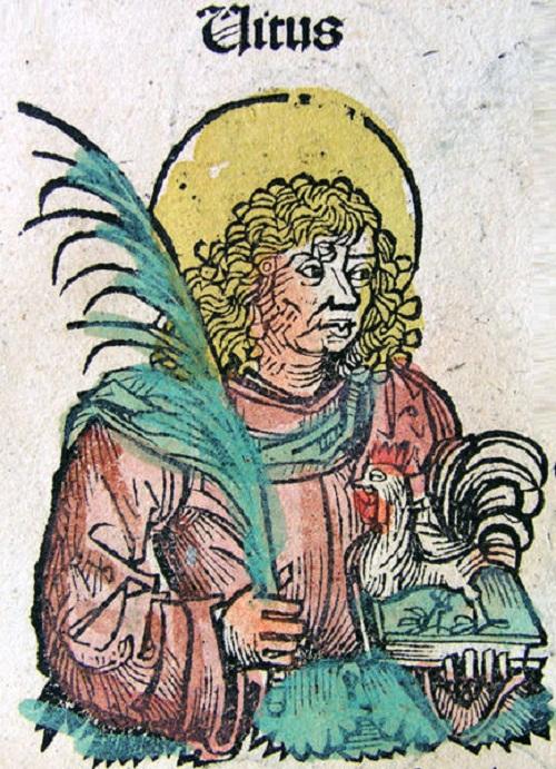 Saint Vitus, from the Nuremberg Chronicle, 1493