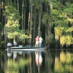 Located in Texas and Louisiana Caddo Lake