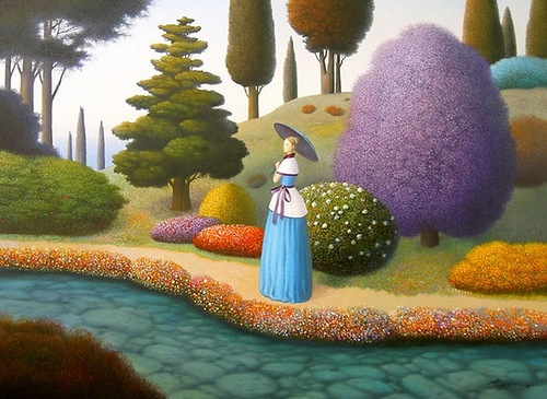 Surreal paintings by Evgeni Gordiets