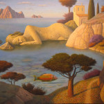 Painting by Ukrainian artist Evgeni Gordiets