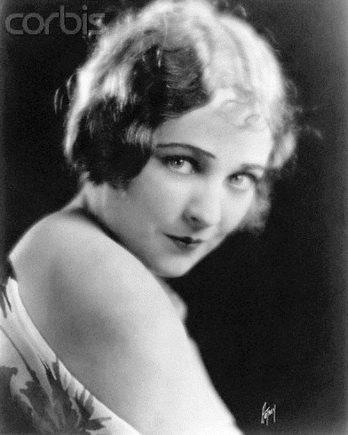 Jacqueline Logan silent movie star in the 1920s