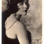 Most popular actress of 1920s Jacqueline Logan