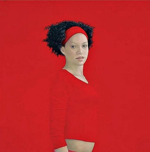 Red Painting by Salustiano Garcia Cruz