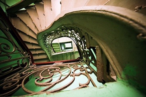 Beautiful and Inspirational Petersburg Stairways
