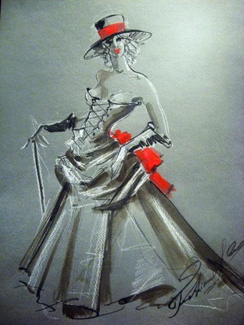 drawings by Fatima Tomaeva Gabellini