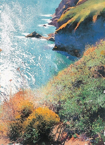 English watercolourist Richard Thorn