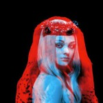 """Animal and human. Red and blue photography by French duo """"Helmo"""" Thomas Couderc and Clement Vauchez"""