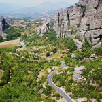 The road to Holy Meteora