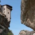 Standing on the edge monastery
