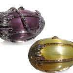 Gorgeous Faberge style handbags by Judith Leiber