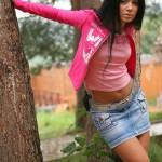 Pink color lover, Beautiful girl Anastasia Yagaylova